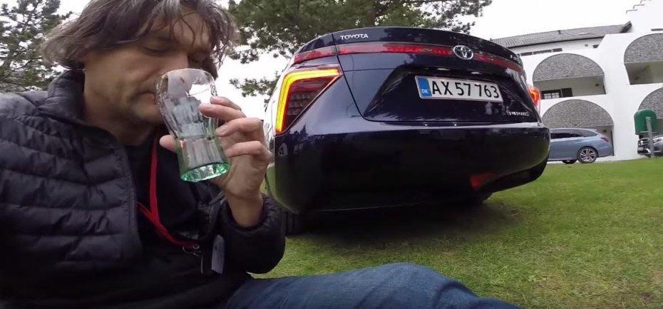 Toyota Mirai: можно пить