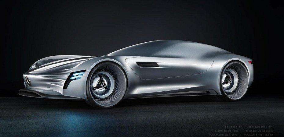 Mercedes Gullwing – будущий SL