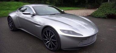 Aston Martin DB10 на видео