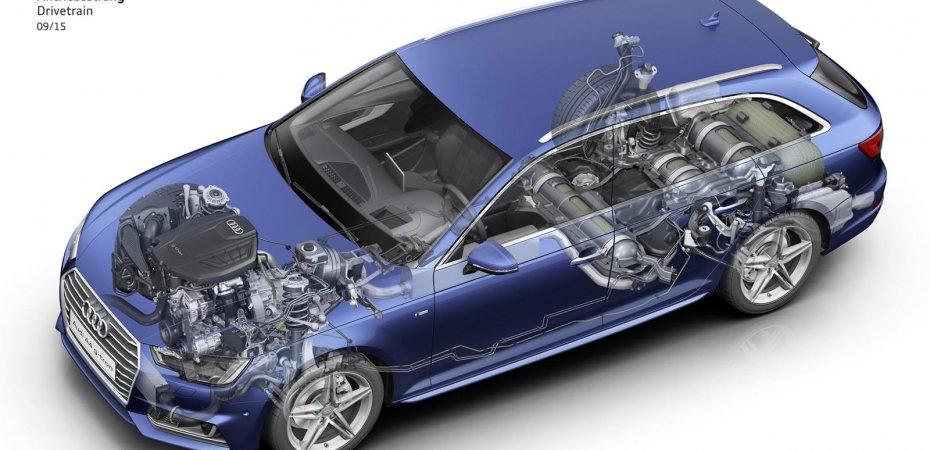 Audi A4 g-tron скоро в продаже