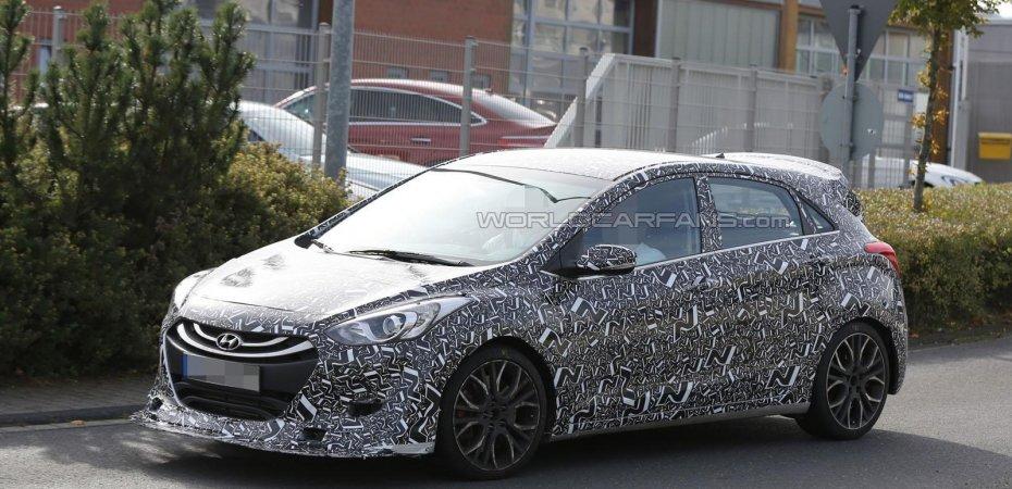 Hyundai i30 N без камуфляжа