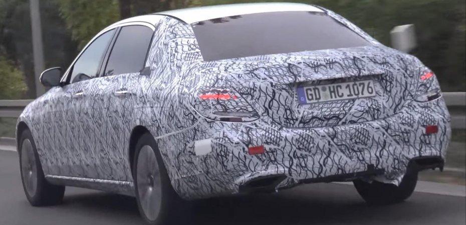 Mercedes-Maybach E-Class сняли на видео