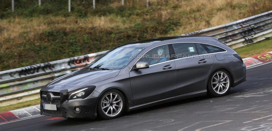 Универсал Mercedes CLA обновится