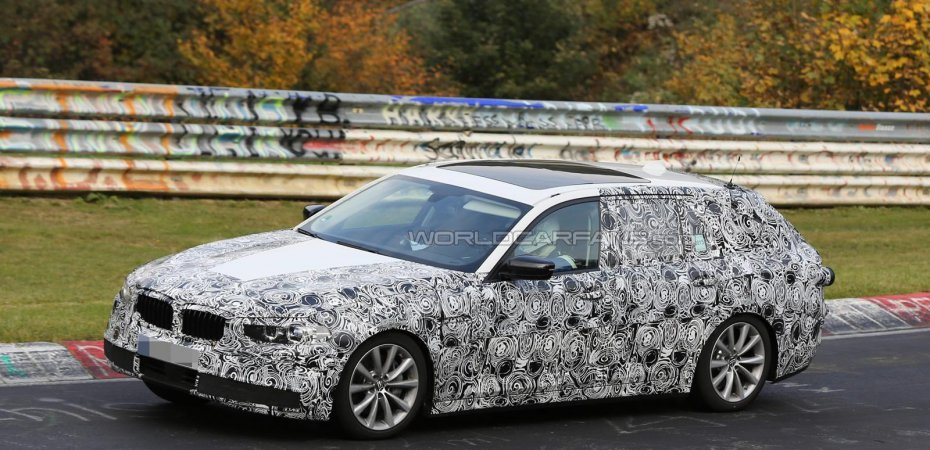 Новый BMW 5 уже на тестах