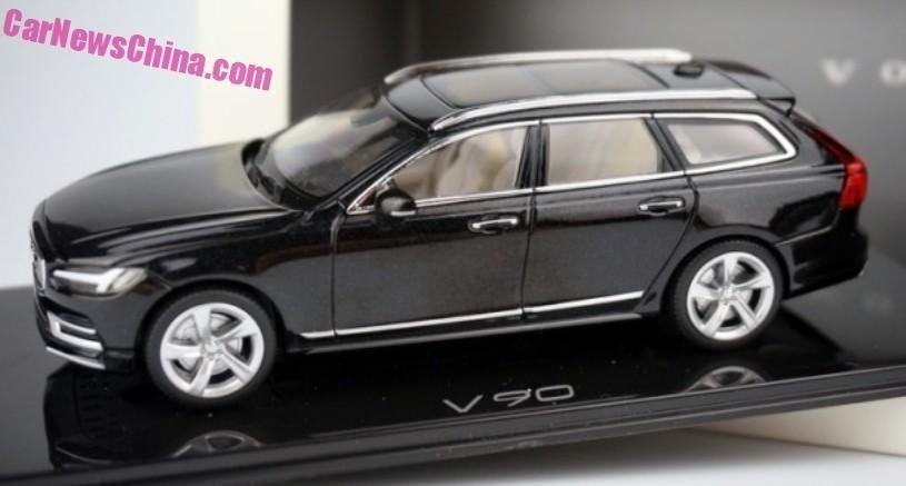 Volvo V90: неожиданный дебют