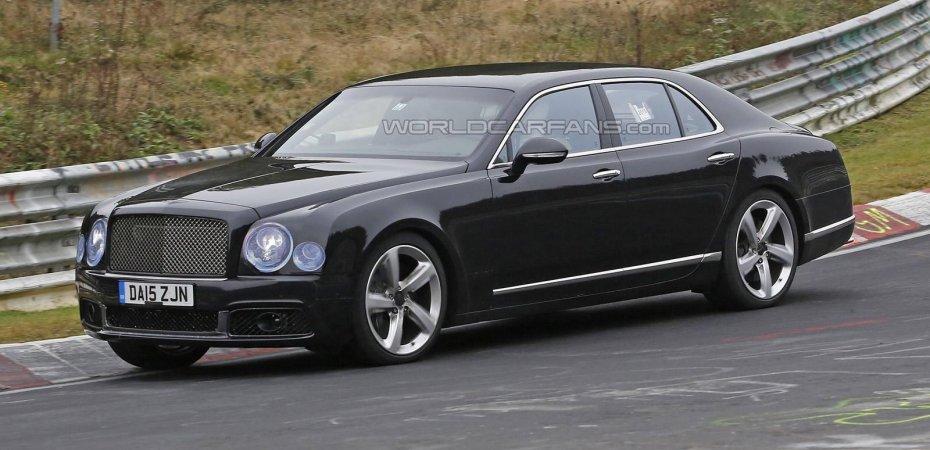 Bentley Mulsanne – фейслифт