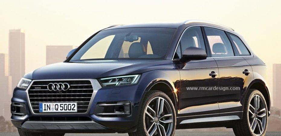 Audi Q5 готов к премьере