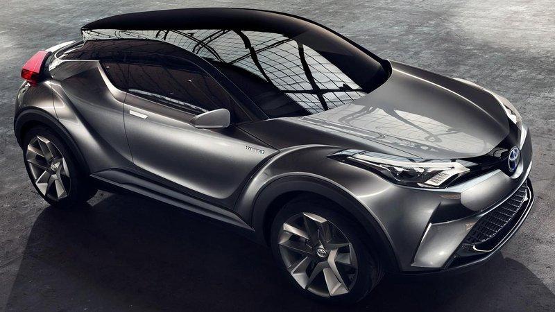 Toyota C-HR готовят к Женеве