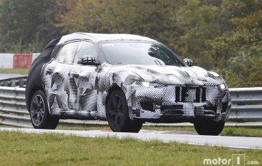 Maserati Levante на тестах