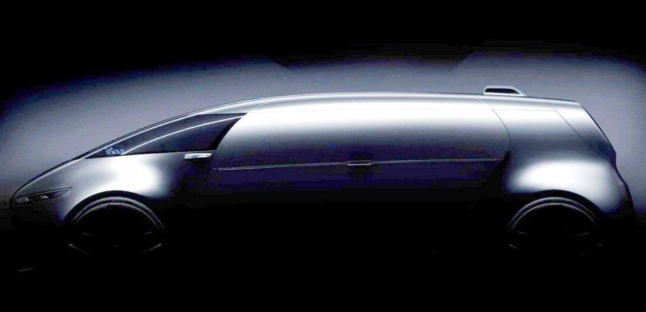 Футуристичный концепт Mercedes в Токио