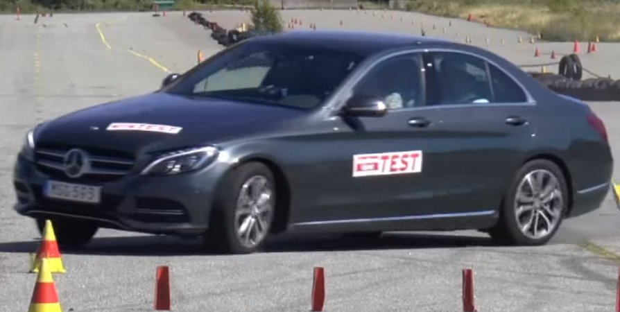 Mercedes C350e провалил тесты