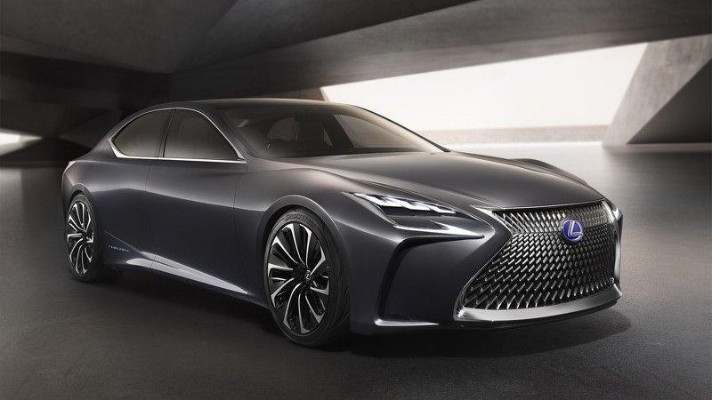 Lexus LF-LC показали в Токио