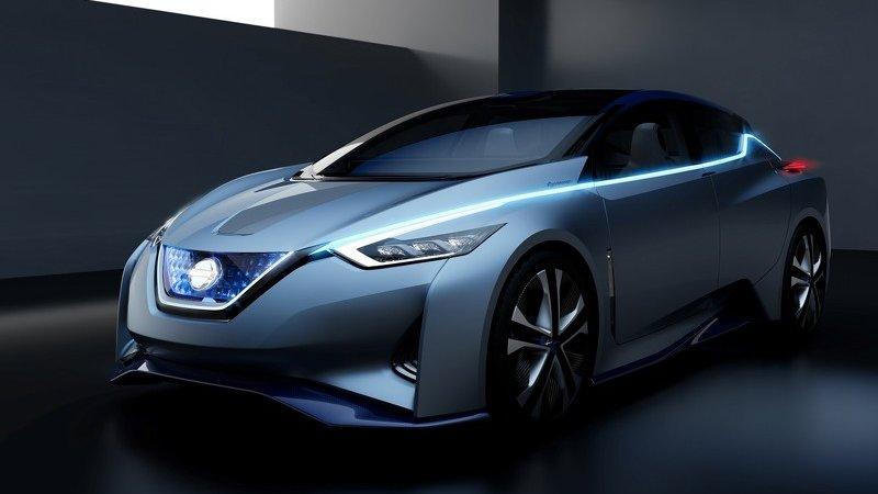 Nissan IDS - будущее электромобилей