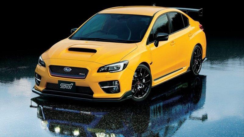 Subaru показала особый WRX STI S207