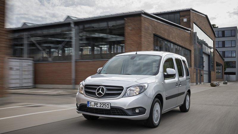 Mercedes обновил Citan