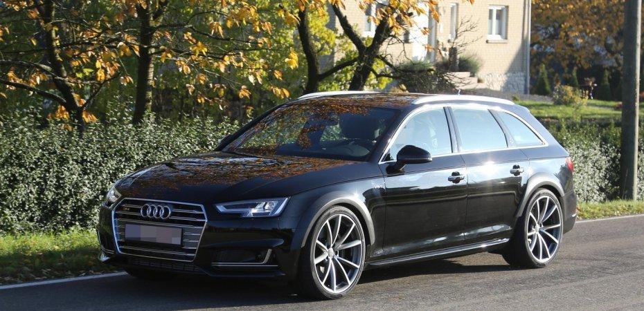 Audi RS4 Avant уже на тестах