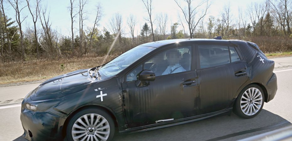 Subaru Impreza 2017 на тестах