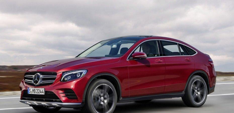 Mercedes GLC Coupe готов к показу