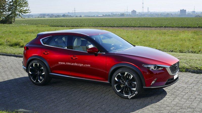 В RM нарисовали Mazda CX-9