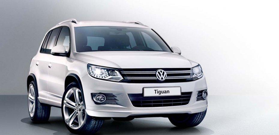 VW представил новый Tiguan Avenue