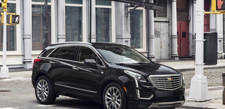 Новая модель Cadillac XT5
