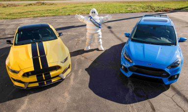 «Заряженные» автомобили Ford «обуют» в Michelin