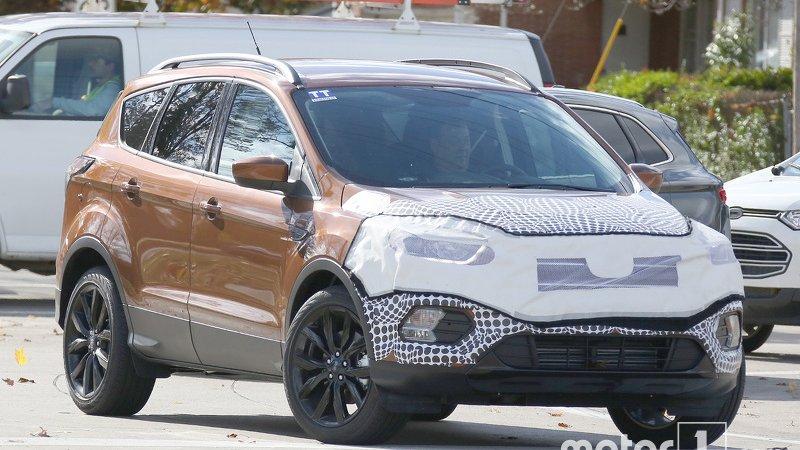 Ford обновляет Kuga