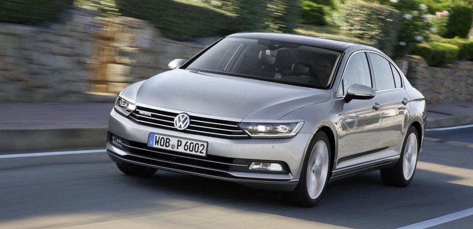 Список нарушителей CO2 от VW