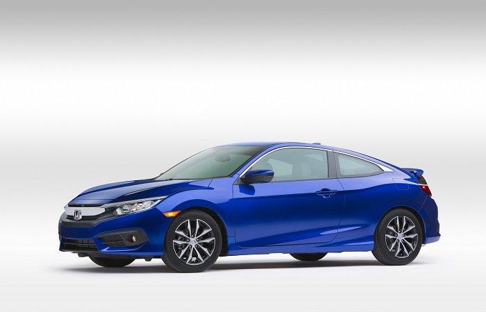 Honda представила Civic Coupe