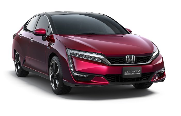 Honda показала Clarity Fuel Cell