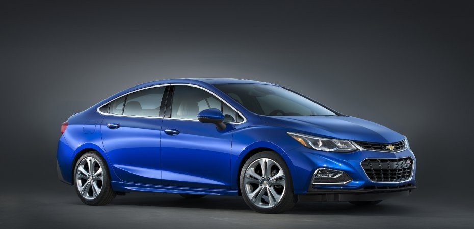 Chevrolet назвала цены Cruze 2016
