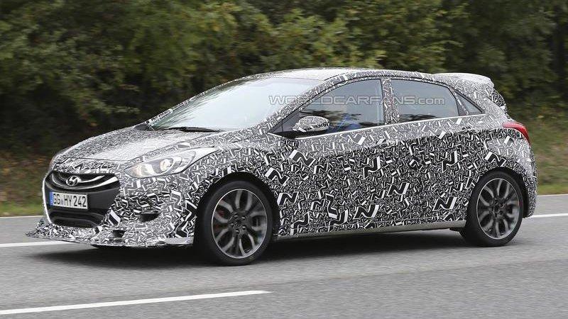 Новые подробности о Hyundai i30 N