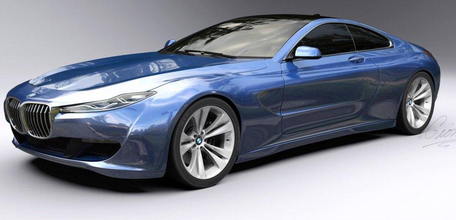 Новый рисунок BMW 8