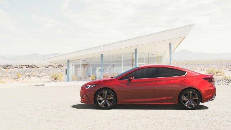 Subaru показала Impreza Sedan