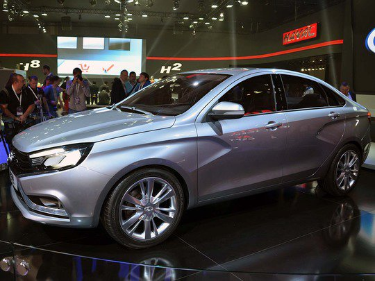 Lada Vesta - старт продаж