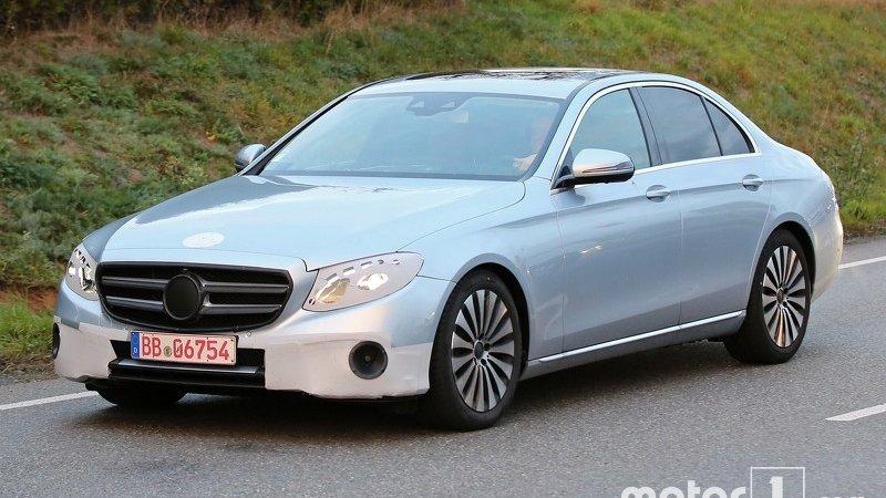 Двигатели нового Mercedes E