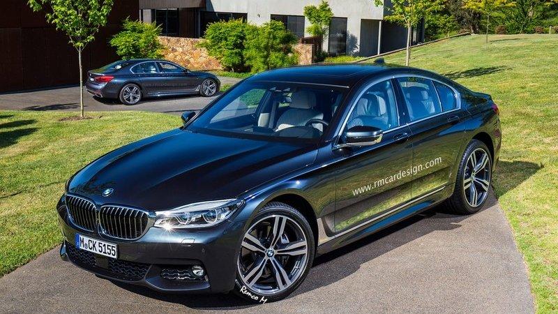Новый BMW 5 покажут в Париже