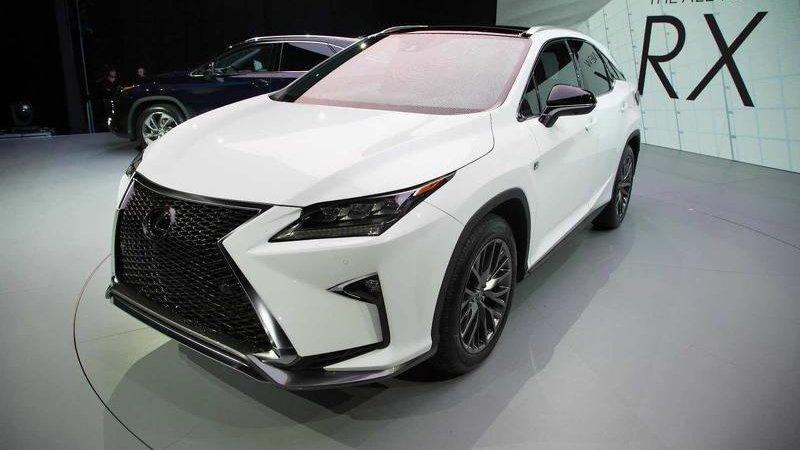 Lexus RX F получит мотор V8