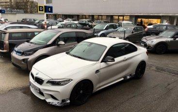 BMW M2 проходит тесты