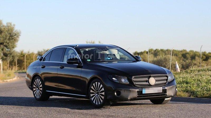 Новые двигатели Mercedes E