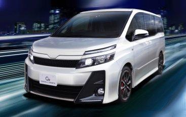 Toyota представила Noah G's и Voxy G's