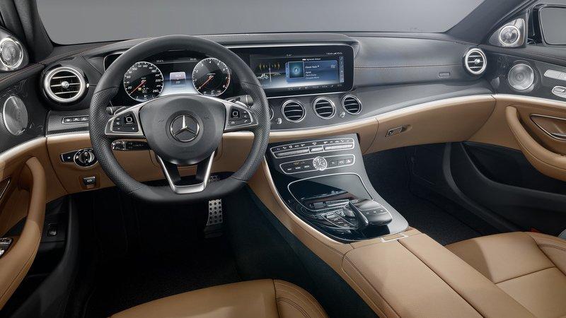 Салон нового Mercedes E