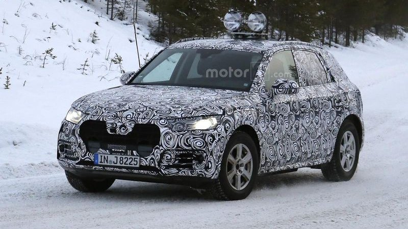 Audi Q5 - проверка морозами