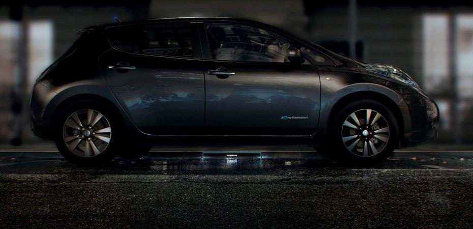 Зарядка будущего от Nissan
