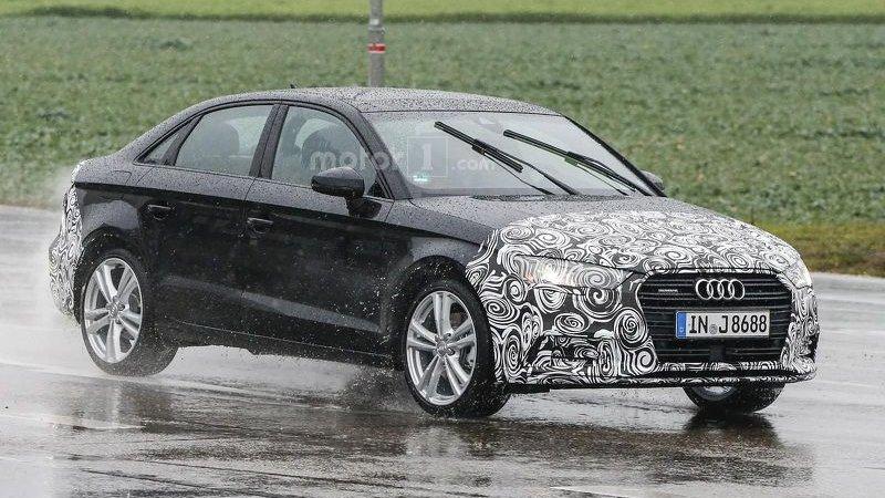 Audi готовит фейслифт седана A3