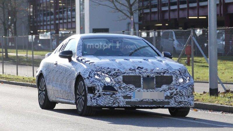 Новый Mercedes E-Class Coupe