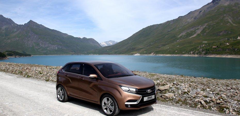 Началось производство Lada XRAY