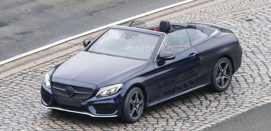 Готов кабриолет Mercedes C
