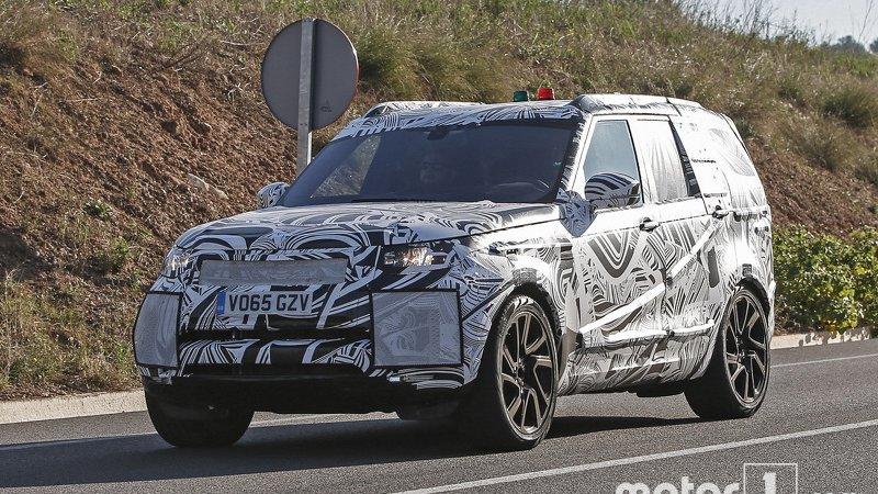 Новый Land Rover Discovery скоро в продаже