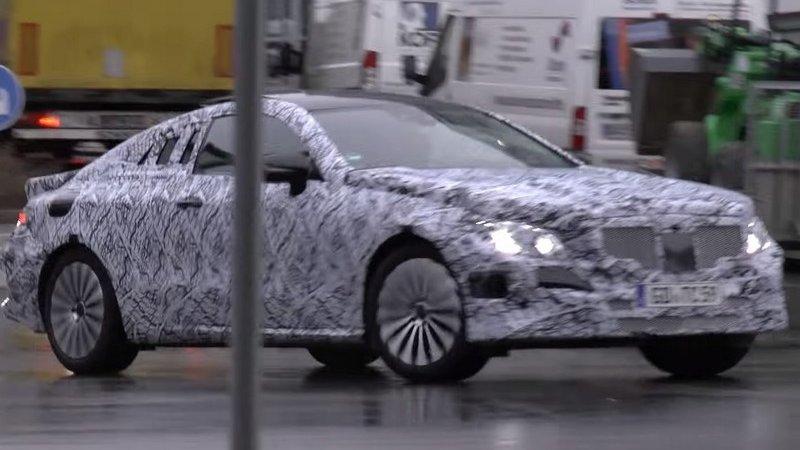 Новый Mercedes E Coupe на тестах